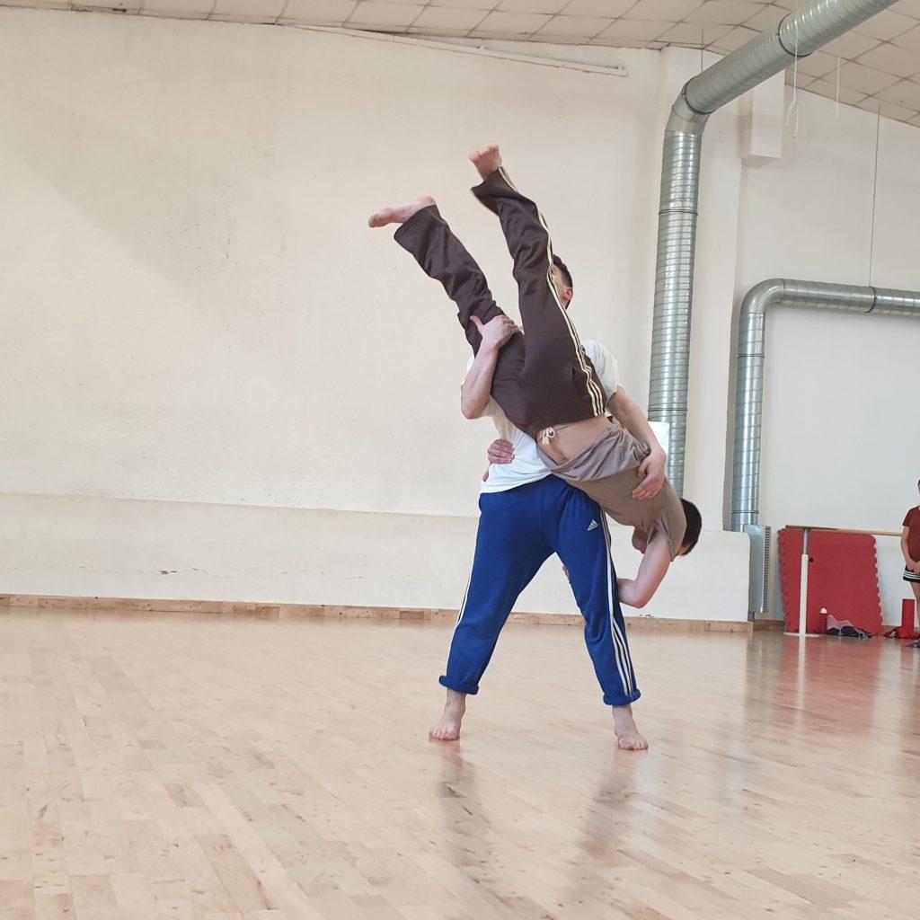Coreografia di Francesco Curci, secondo anno